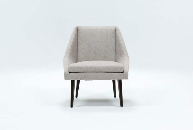 Keisha Grey Accent Chair - 360