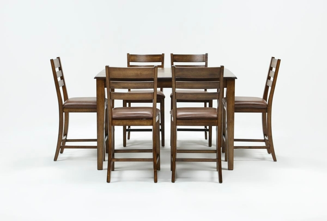 Rory 7 Piece Extension Counter Set - 360
