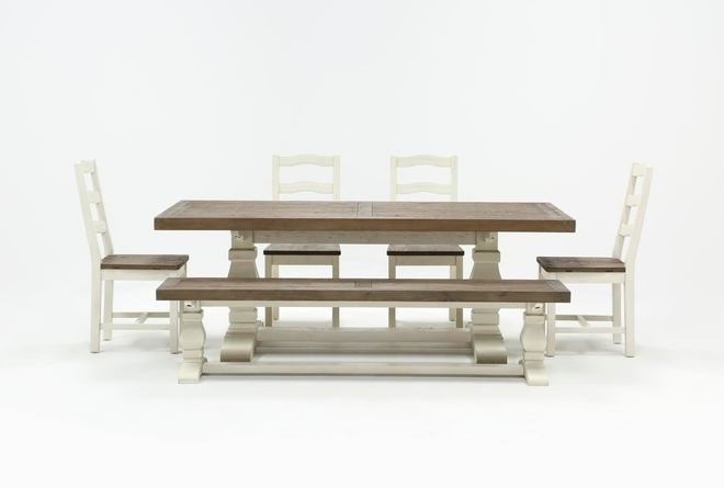 Brentwood Rectangle 6 Piece Dining Set - 360