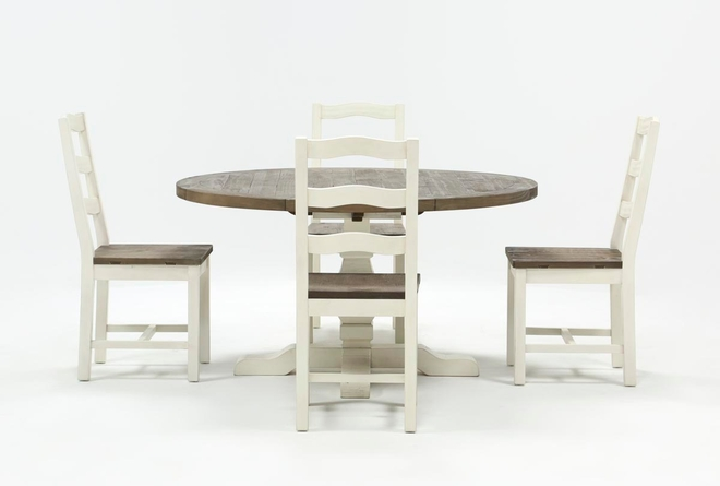 Brentwood Round 5 Piece Dining Set - 360