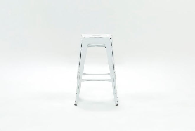 Radical White 26 Inch Counter Stool - 360
