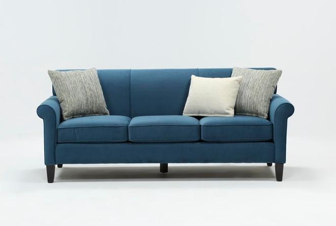 Devon II Black Sofa - 360