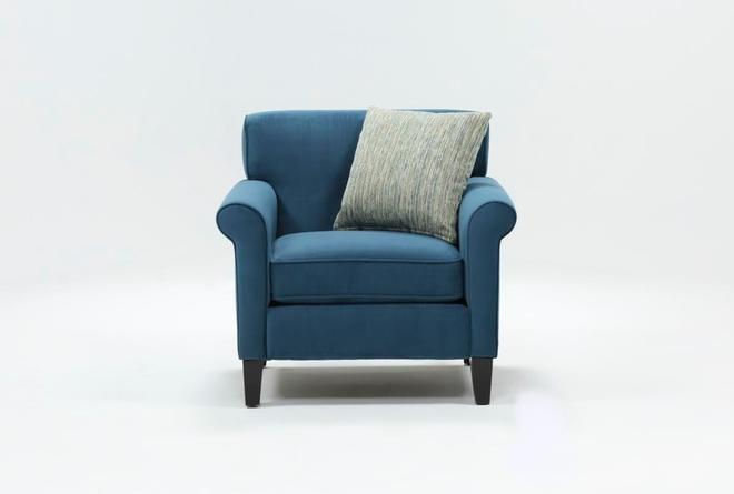 Devon II Brown Arm Chair - 360