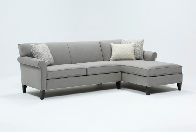 Devon II 2 Piece Sectional With Right Arm Facing Chaise - 360