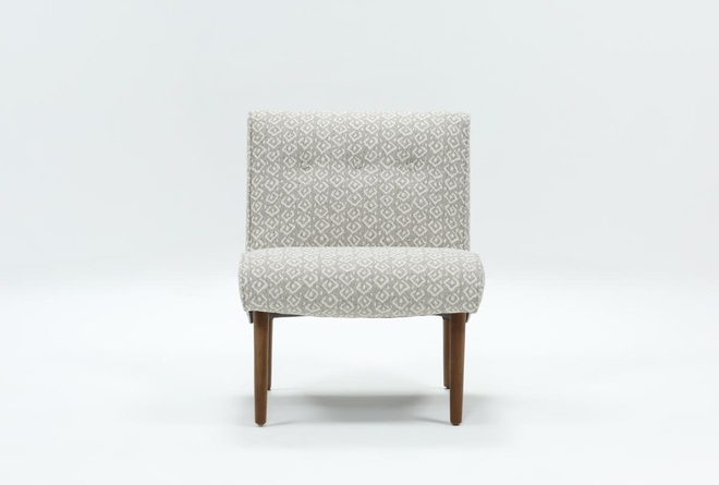 Devon II Dark Grey Accent Chair - 360