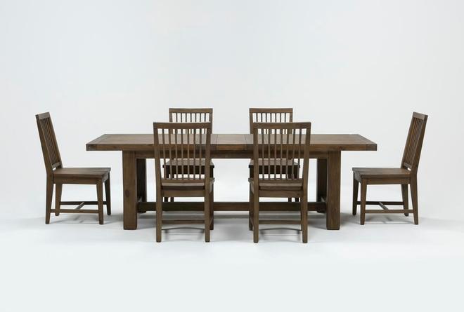 Gables 7 Piece Extension Dining Set - 360