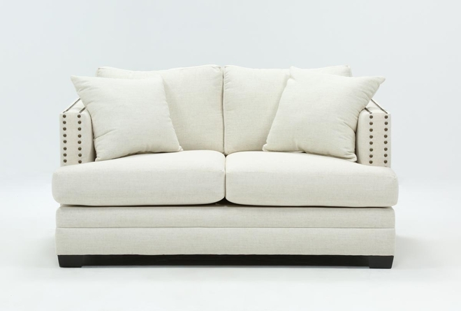 Kiara II Yellow Loveseat - 360