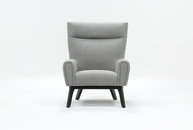 Lounge Grey Accent Chair - 360