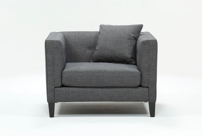 Avery II Green Arm Chair - 360