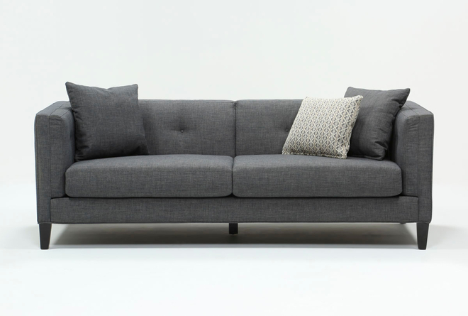 Avery II Light Grey Sofa - 360