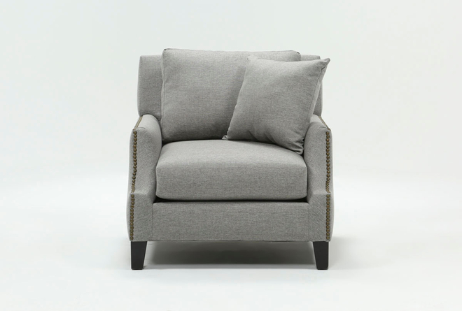 Kayla Dark Grey Chair - 360
