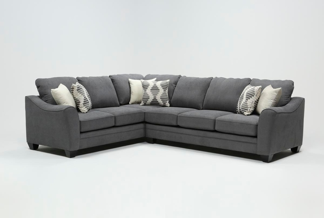 Mesa Foam II 2 Piece Sectional With Right Arm Facing Sofa - 360