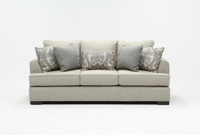 Burke Red Sofa - 360