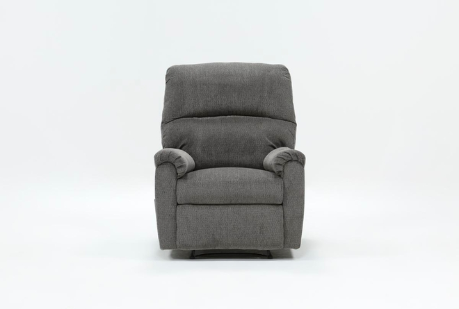 Nerviano Grey Wallaway Recliner - 360