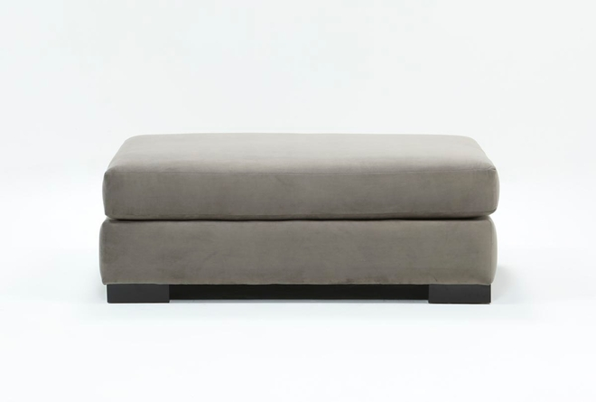 Lodge Red Ottoman - 360