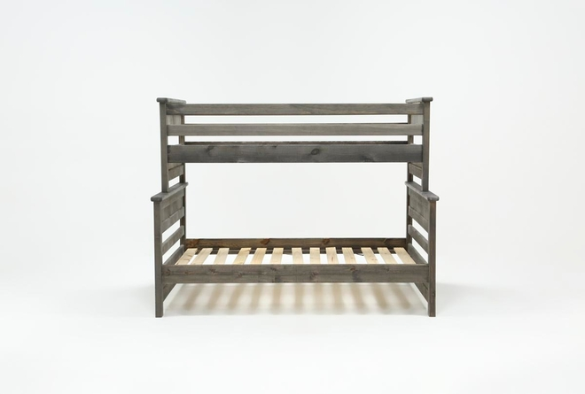 Summit Grey Twin Over Full Bunk Bed - 360