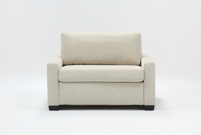 """Mackenzie Pearl 53"""" Twin Sofa Sleeper - 360"""