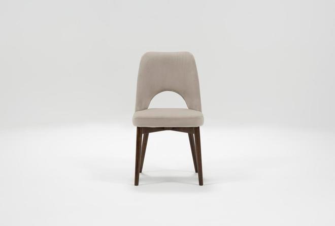 Zuma Grey Side Chair - 360