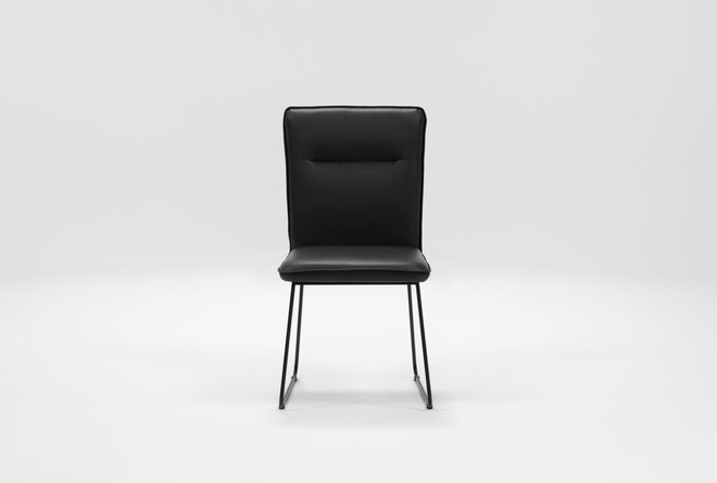 Kylie Black Side Chair - 360