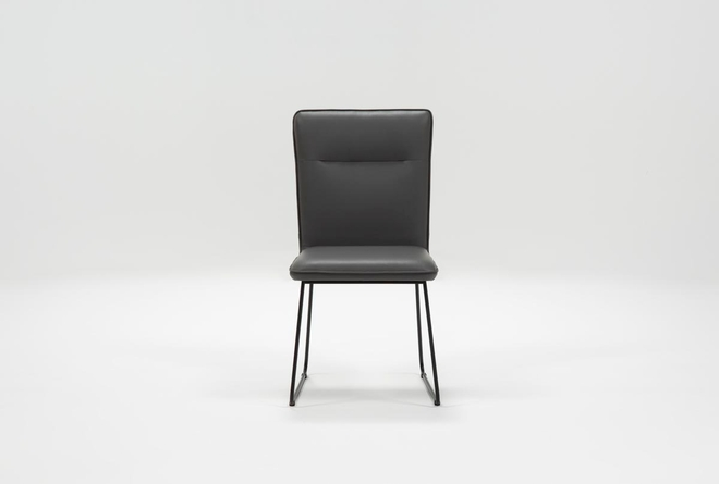 Kylie Grey Dining Side Chair - 360