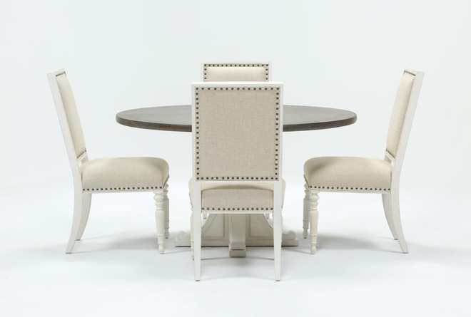 Candice II 5 Piece Round Dining Set - 360