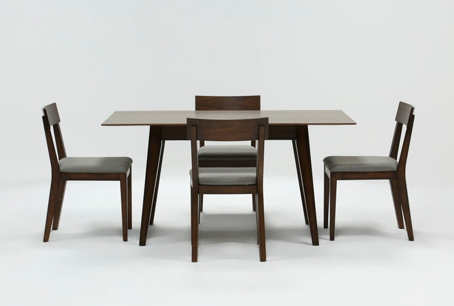 Rogers 5 Piece Rectangle Dining Set - 360