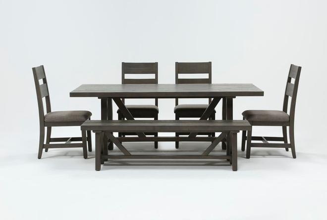 Timber 6 Piece Dining Set - 360