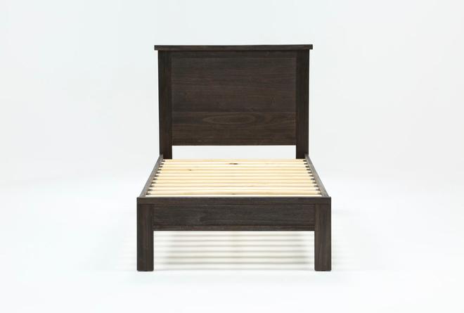 Larkin Espresso Twin Panel Bed - 360