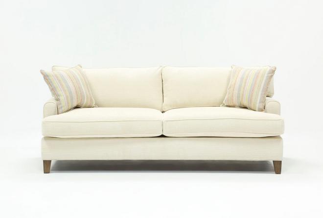 Emerson II Orange Sofa - 360