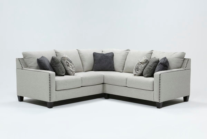 Chappell 2 Piece Sectional With Left Arm Facing Loveseat - 360
