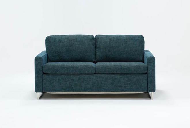 Branson Teal Queen Sofa Sleeper - 360