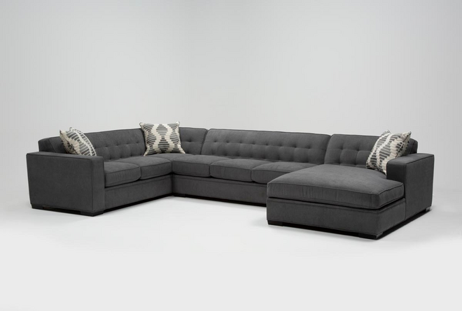 Costello III 3 Piece Sectional With Right Arm Facing Chaise - 360