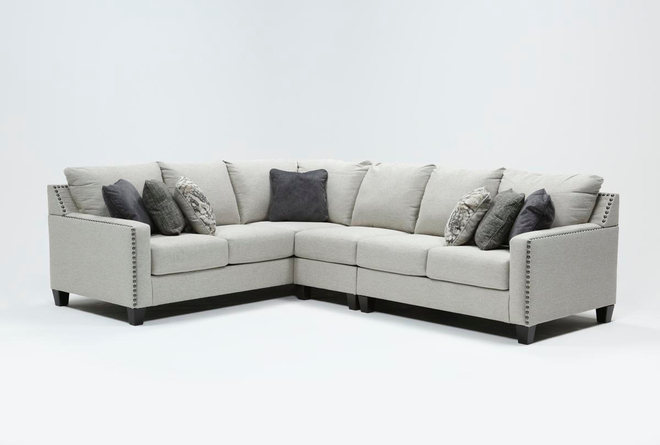 Chappell 3 Piece Sectional with Right Arm Facing Loveseat - 360