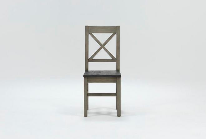 Thomas Grey Side Chair - 360