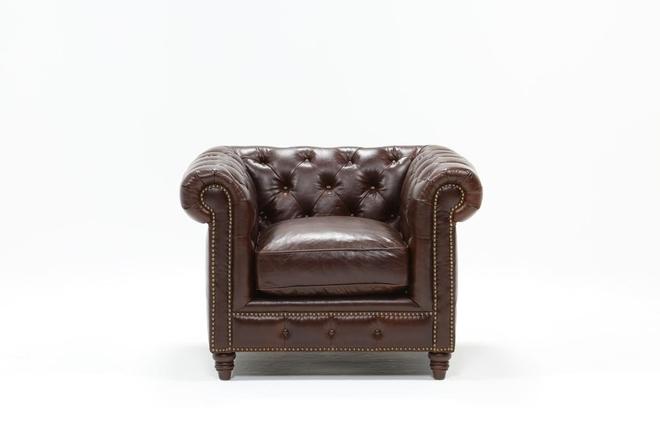 Churchill Leather Chair - 360
