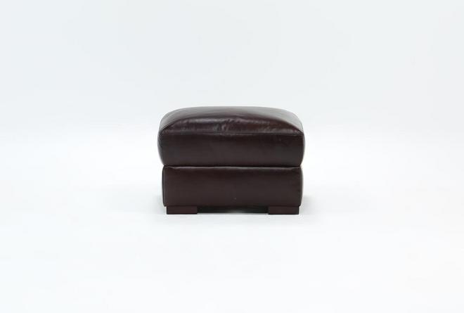 Stout Leather Ottoman - 360