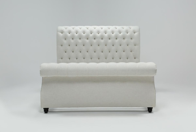 Calistoga California King Upholstered Sleigh Bed - 360