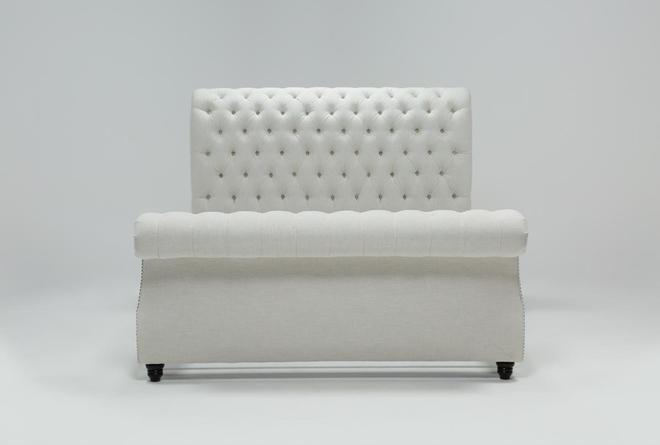 Calistoga Eastern King Upholstered Sleigh Bed - 360