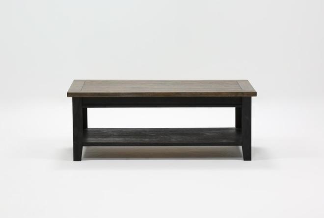 Dixon Black Coffee Table - 360