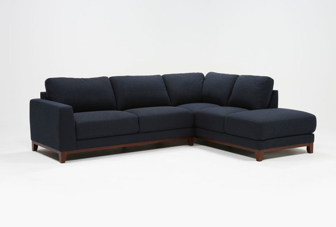 Amherst Royal 2 Piece Sectional With Right Arm Facing Chaise - 360