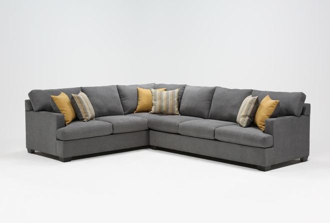 Emmeline 2 Piece Sectional With Right Arm Facing Sofa - 360
