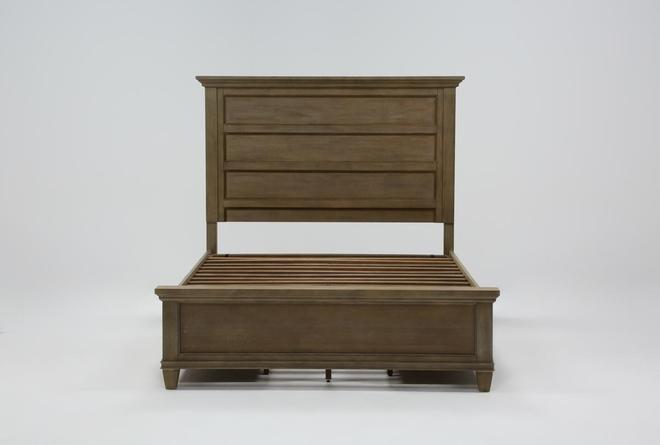 Meridian Queen Panel Bed With Storage - 360