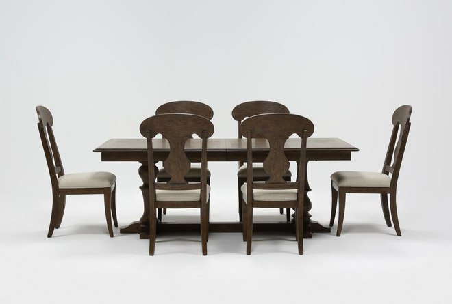 Chapman 7 Piece Extension Dining Set With Side Chairs - 360