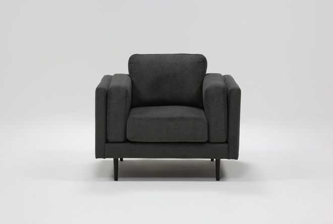 Aquarius II Dark Grey Chair - 360