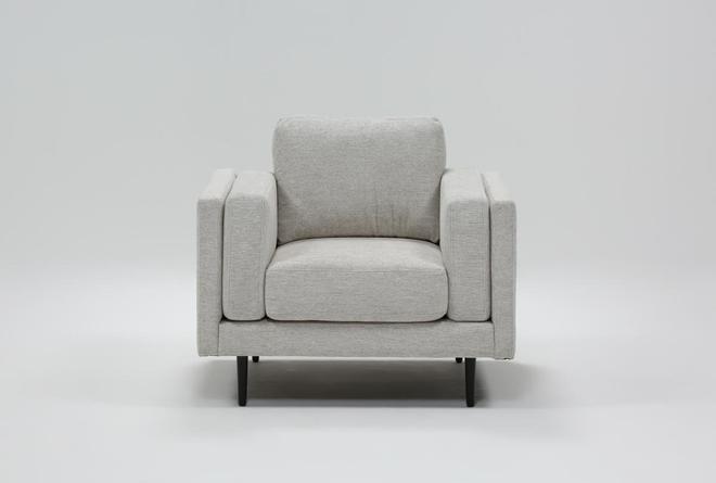 Aquarius II Light Grey Chair - 360