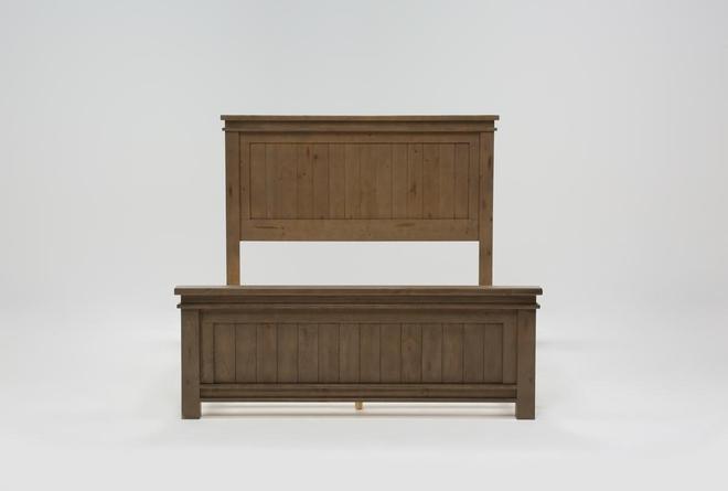 Coleman Queen Panel Bed - 360