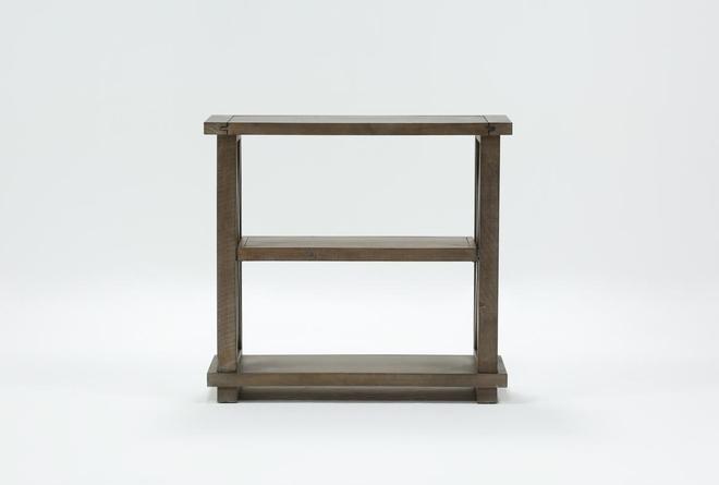 Jaxon Grey 36 Inch Bookcase - 360