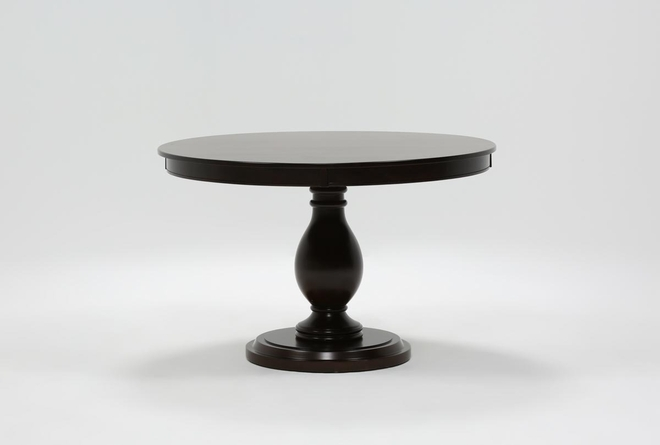 Rancho Brown Round Dining Table - 360