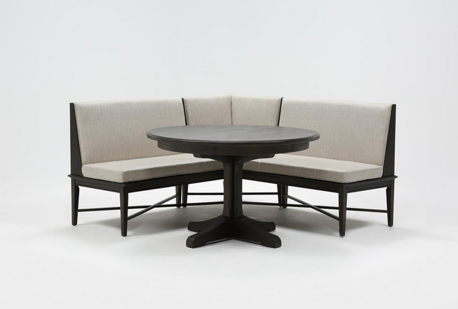 Valencia 2 Piece Banquette Dining Set - 360