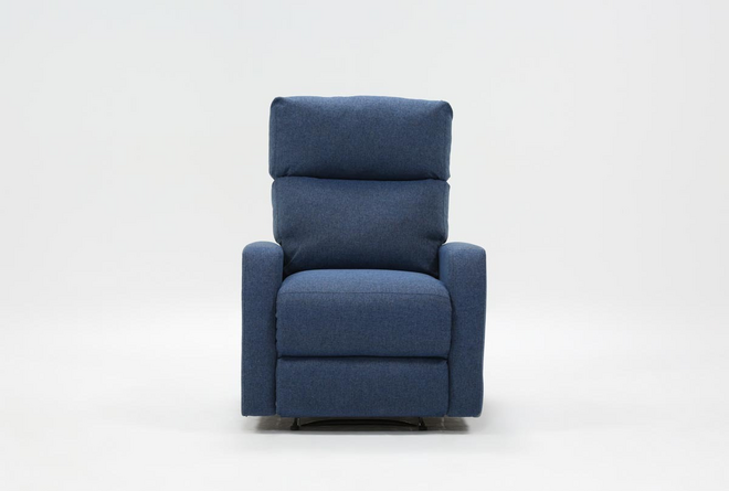 Keaton Denim Recliner - 360